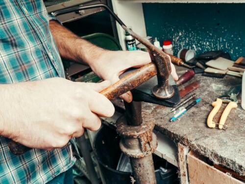 Eindrücke aus unserer Reparaturwerkstatt & Ladengeschäft in Hanau